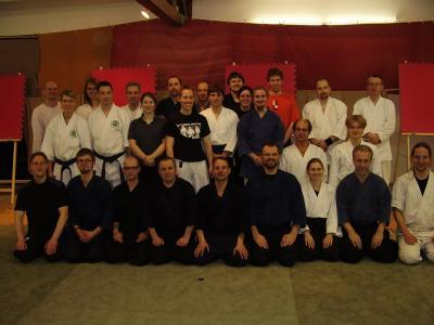 Exito del curso de Meifu Shinkage Ryu en Bremen (Alemania)