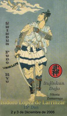 Seminario de Shinden Fudo Ryu en Vitoria