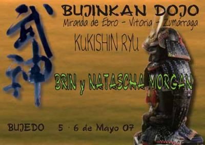 Curso de Brin y Natascha Morgan - 5 y 6 Mayo - Bujedo (Miranda de Ebro - Burgos)