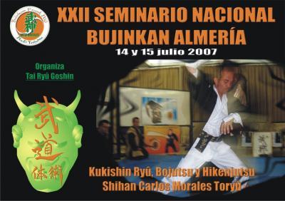Seminario en Almería con Carlos Morales - Julio