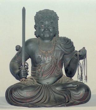 Fudo-Myo-Ô  -  Aprendiendo a mirar estatuas budistas