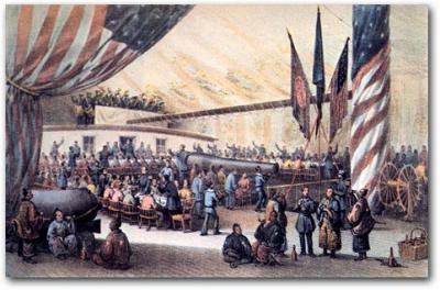 Los Samurais llegan por primera vez a Estados Unidos en 1860