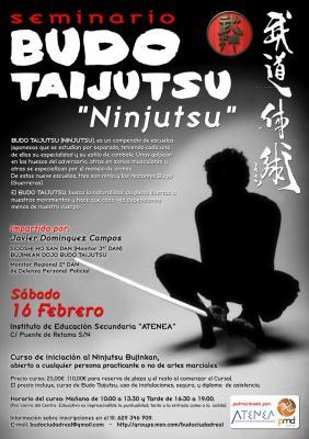 Seminario de Introducción al Budo Taijutsu en Ciudad Real
