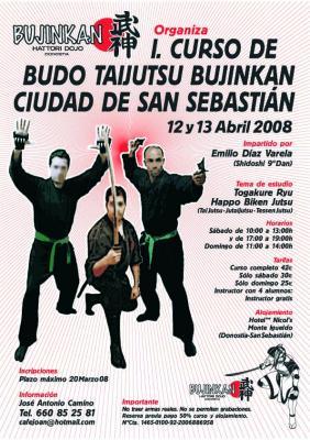 Curso en San Sebastián - Abril 2008 - Emilio Díaz
