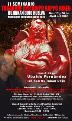 Seminario en Huelva con Ubaldo Fernandez - 19 y 20 de Abril 2008