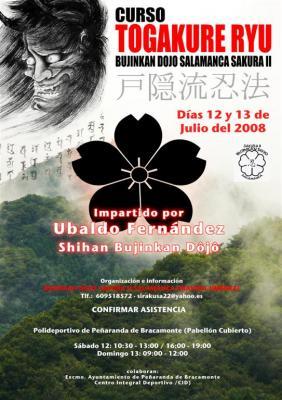Curso en Salamanca con Ubaldo Fernández - Julio 12 y 13