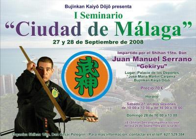 Seminario en Málaga - Sept 08 - JM Serrano