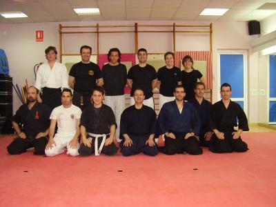 Estupendo curso de Meifu Shinkage Ryu en Cartagena