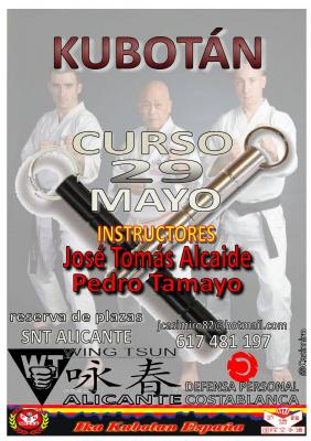 Curso de Kubotan Self Defense - Alicante - 29 Mayo