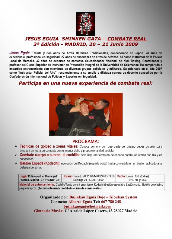 Curso con Jesús Eguía - Madrid - Junio 21 y 22