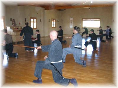 II Curso de Kenjutsu e introducción al Zazen