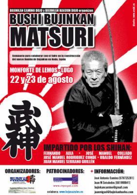 Seminario BUSHI BUJINKAN MATSURI